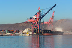 Porto mexicano de Ensenada fotos de stock royalty free