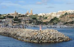 Porto Mgarr imagens de stock royalty free