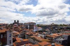 Porto miasteczka stary krajobraz Wizyty Portugalia poj?cie obraz royalty free