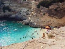 Porto miggione plaża Obraz Stock