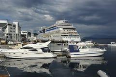 Porto in Molde, Sud-Norvegia Fotografia Stock