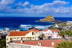 Porto Moniz imagem de stock royalty free