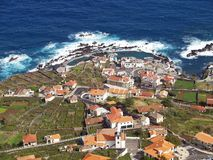 Porto Moniz, Madeira Island Stock Photo
