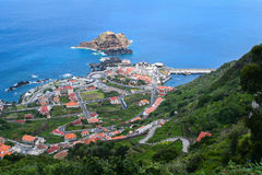Porto Moniz, Madeira island Stock Photos