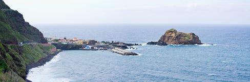 Porto Moniz on Madeira island, Portugal Royalty Free Stock Images