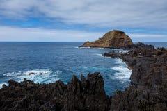 Porto Moniz, Madeira Royalty Free Stock Photography