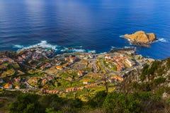 Porto Moniz - Madeira Portugal Stock Photography