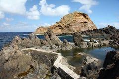 Porto Moniz Madeira Royalty Free Stock Photography