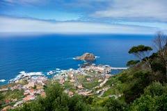 Porto Moniz, Madeira. View of Porto Moniz in Madeira Royalty Free Stock Photos