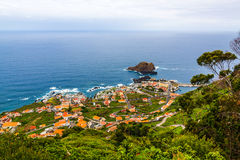Porto Moniz, Madeira Royalty Free Stock Photos