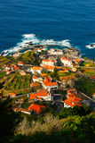 Porto Moniz, Madera, Portugal Royalty-vrije Stock Afbeelding