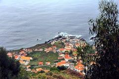 Porto Moniz, Norden von Madeira-Insel Stockfotografie