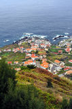 Porto Moniz, north of Madeira island stock photography