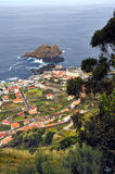 Porto Moniz, north of Madeira island royalty free stock photos