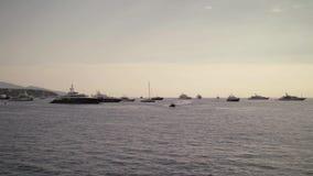 Porto a Monte Carlo 4K video d archivio