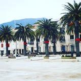Porto Montengro przy bożymi narodzeniami Obraz Stock