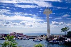 Porto na cidade de Istambul!! Foto de Stock Royalty Free