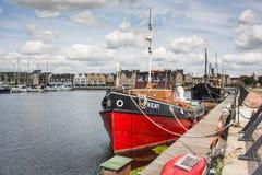 Porto na ilha de St Mary, Kent imagens de stock royalty free