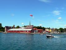 Porto na Suécia Imagens de Stock