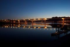 Porto nachts Stockfotos