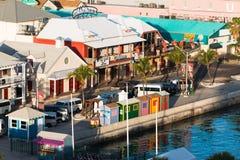 Porto Nassau di crociera Fotografia Stock Libera da Diritti