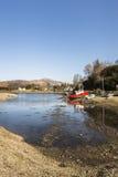 Porto naturale a Glenelg in Scozia Immagine Stock