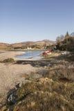 Porto naturale a Glenelg in Scozia Immagini Stock