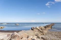 Porto naturale in Wulfen immagine stock