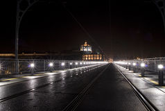 Porto by night Royalty Free Stock Photo