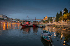Porto at night Royalty Free Stock Images