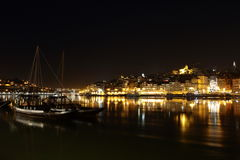 Porto by Night Portugal Stock Photo