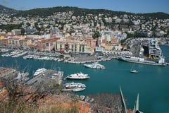 Porto in Nizza Immagini Stock