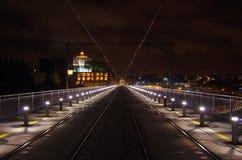 Porto noc Obrazy Royalty Free