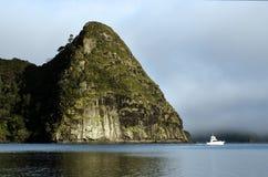 Porto Nuova Zelanda di Whangaroa fotografia stock libera da diritti