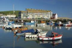 Porto ocidental da baía imagem de stock