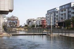 Porto ocidental, Malmoe Imagem de Stock Royalty Free