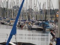 Porto ocupado Fotografia de Stock