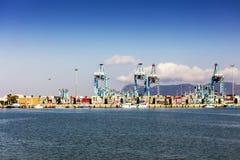 Porto ocupado na Espanha imagem de stock royalty free