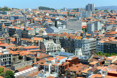 Porto Old City aerial view, Portugal Stock Image