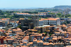 Porto Old City aerial view, Portugal Royalty Free Stock Images