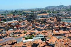 Porto Old City aerial view, Portugal Royalty Free Stock Photography