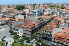 Porto Old City aerial view, Portugal Stock Photography