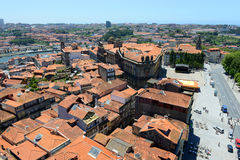 Porto Old City aerial view, Portugal Stock Images