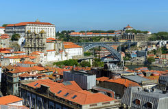 Porto Old City aerial view, Portugal Stock Photo
