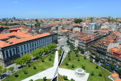 Porto Old City aerial view, Portugal Royalty Free Stock Photos