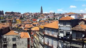 Porto old city stock video