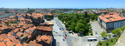 Porto Old City Panorama, Porto, Portugal Stock Photography