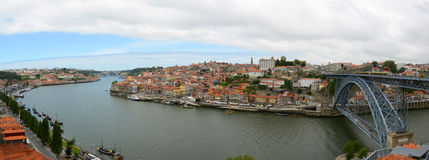 Porto Old City Panorama, Porto, Portugal Stock Image