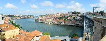 Porto Old City Panorama, Porto, Portugal Royalty Free Stock Photography