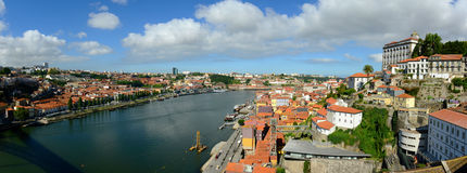 Porto Old City Panorama, Porto, Portugal Royalty Free Stock Photo